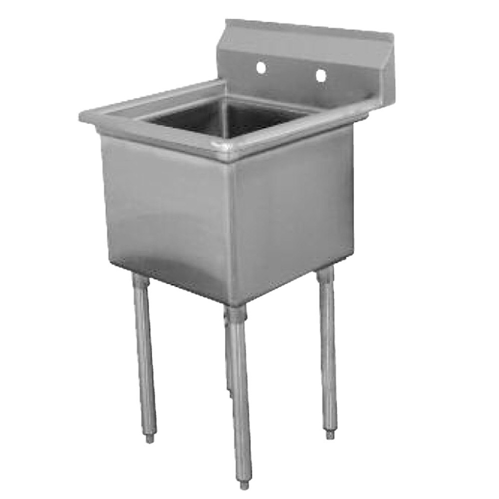 Advance Tabco FE-1-1812 One Compartment Stainless St