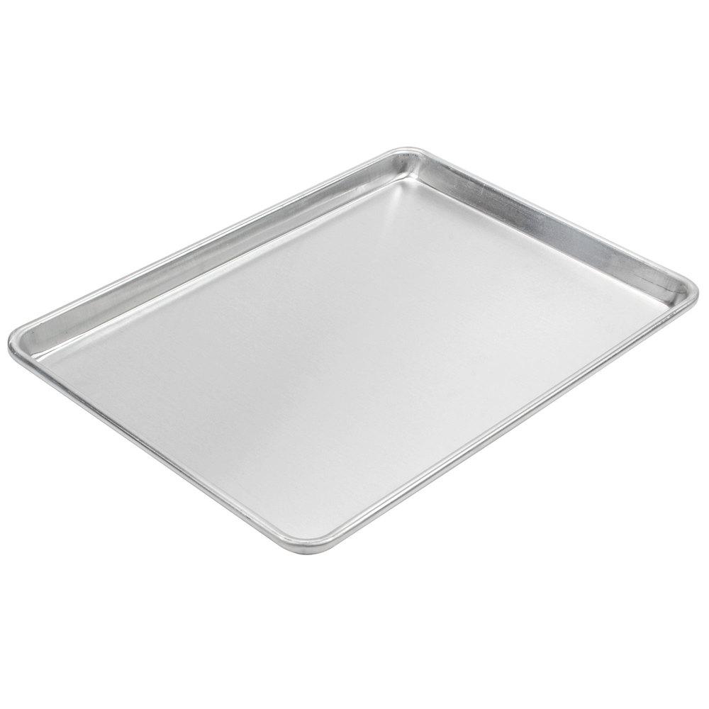 12x18 Sheet Pan Advance Tabco Half Size 18 Gauge Aluminum