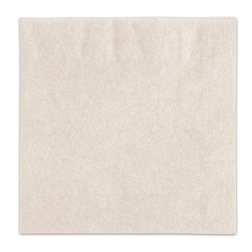 Choice Ecru / Ivory Beverage / Cocktail Napkin - 1000 / Case