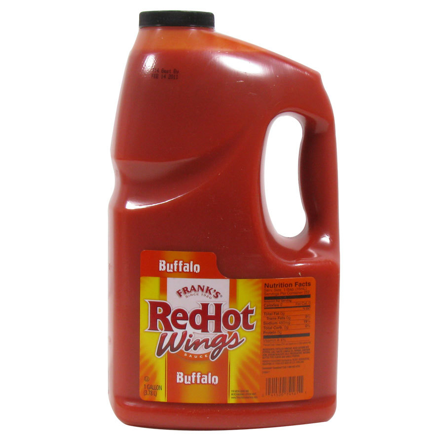 Frank's Red Hot Wings Buffalo Wings Sauce 1 Gallon