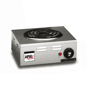 APW Wyott CP-1A Champion Single Open Burner Portable Electric Hot Plate - 120V, 1250W at Sears.com