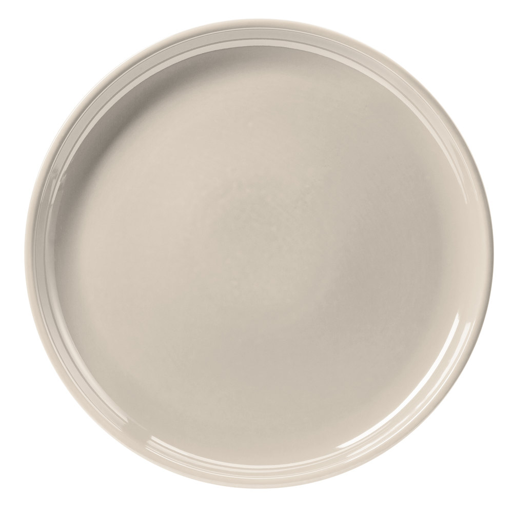 "Hall China 26130AWHA White 13 1/4"" China Chop Plate - 6/Case"