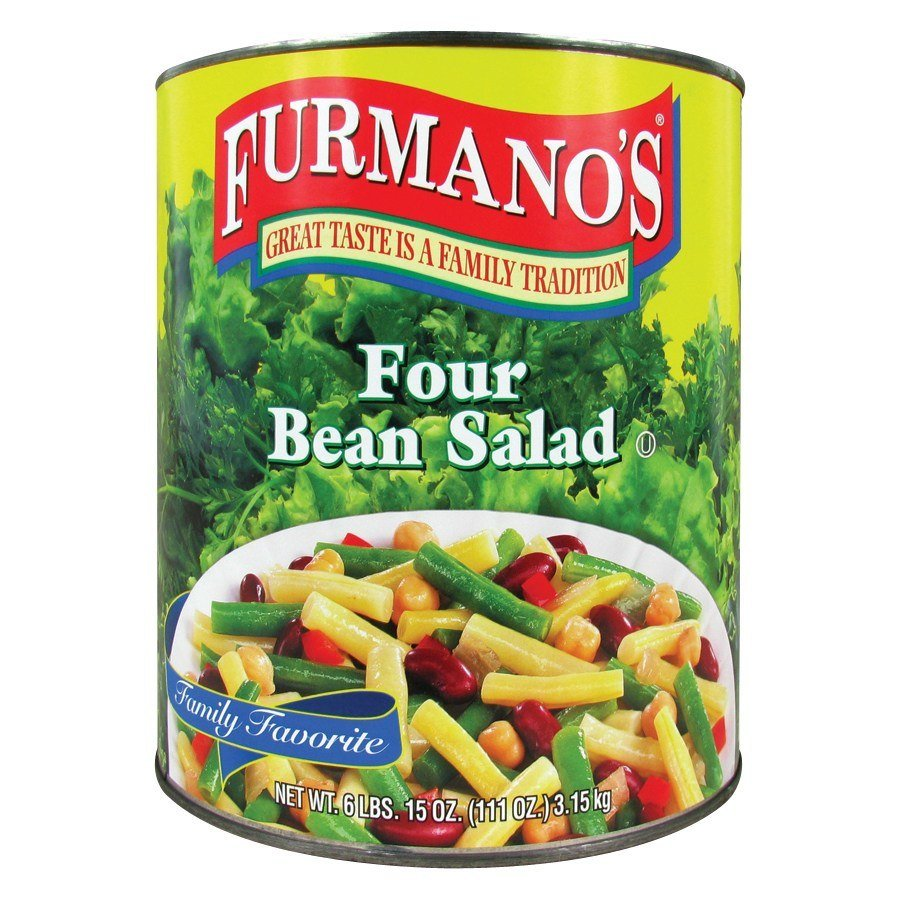 Furmano's Four Bean Salad - #10 Can
