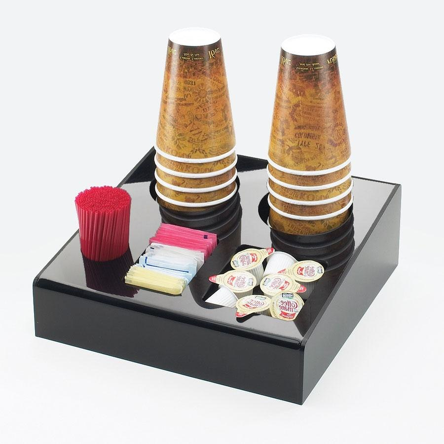 "Cal Mil 675 Classic Black Coffee Condiment Organizer ? 12"" x 14"" x 6"" at Sears.com"