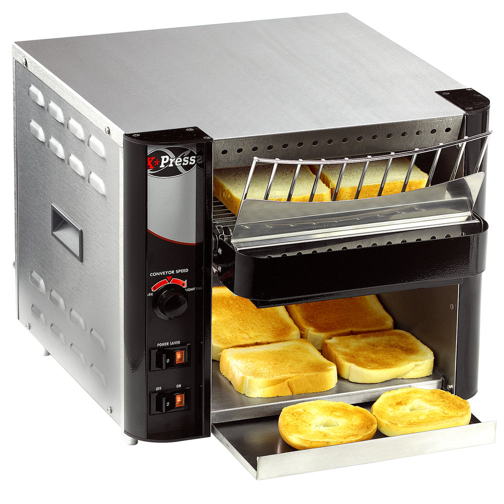 "208V APW Wyott XTRM-1 10"" Wide Conveyor Toaster with 1 1/2"" Opening"