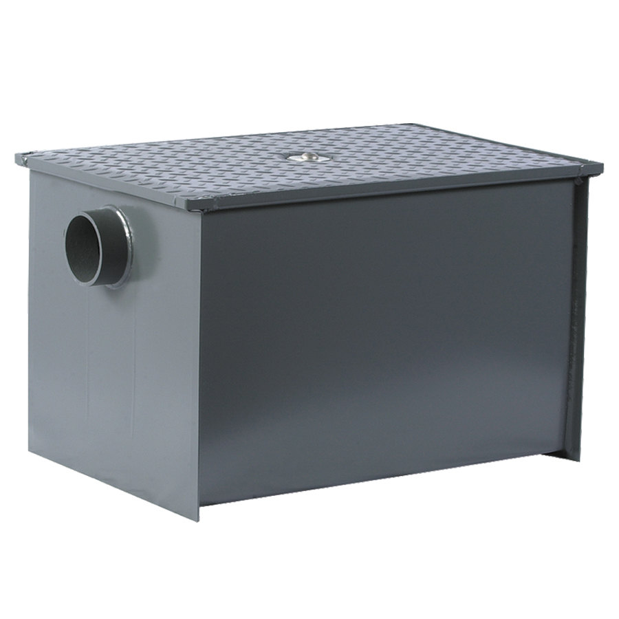 Watts WD-35-THD 70 lb. Grease Trap with Threaded Connections