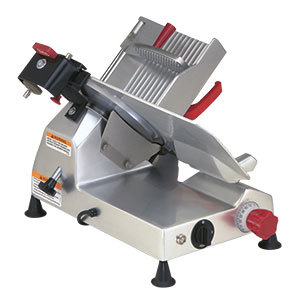Berkel 827E-PLUS 12 inch Manual Gravity Feed Meat Slicer 1/3 hp