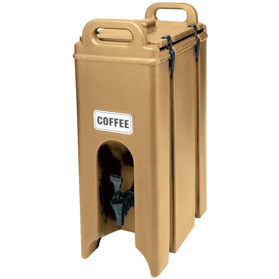 Cambro 500LCD157 Coffee Beige 4.75 Gallon Camtainer Insulated Beverage Dispenser