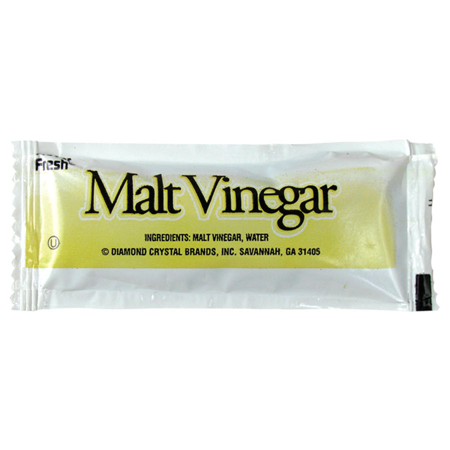 Malt Vinegar - (200) 9 Gram Portion Packets / Case