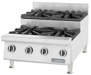 Garland / US Range Natural Gas Garland GTOG24-SU4 4 Burner Step-Up Countertop Range at Sears.com