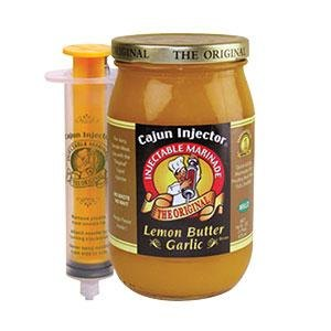 Cajun Injector 16 oz. Lemon Butter Garlic Marinade with Injector at Sears.com