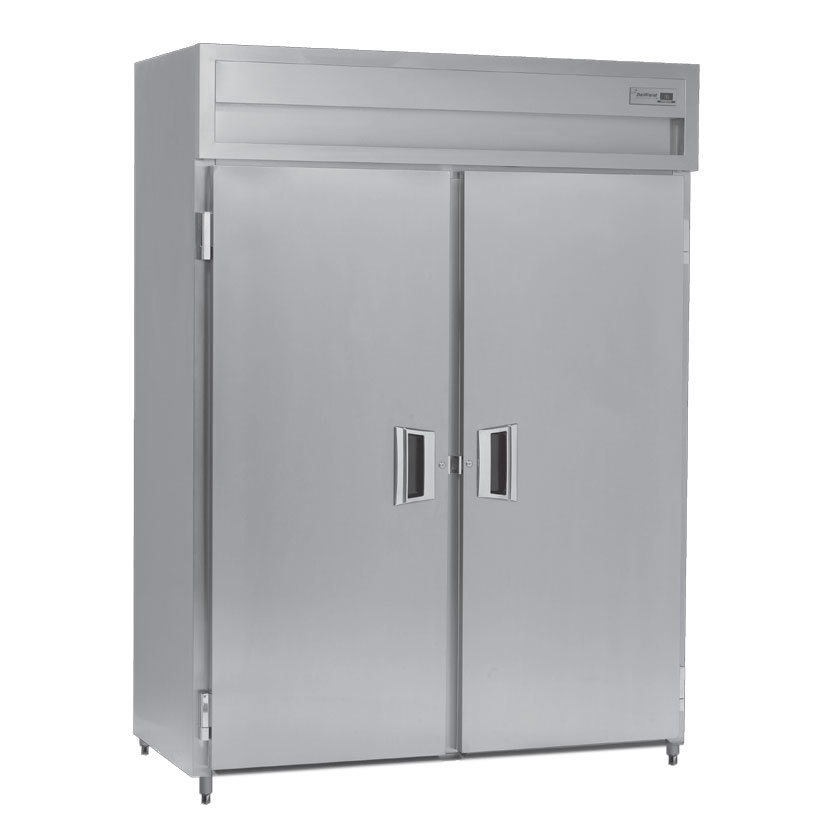 Delfield SSF2N-S Stainless Steel 45 Cu. Ft. Two Section Solid Door Narrow Reach In Freezer - Specification Line