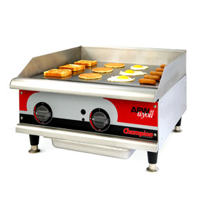 "APW Wyott EG-24i 24"" Electric Countertop Griddle 208V"