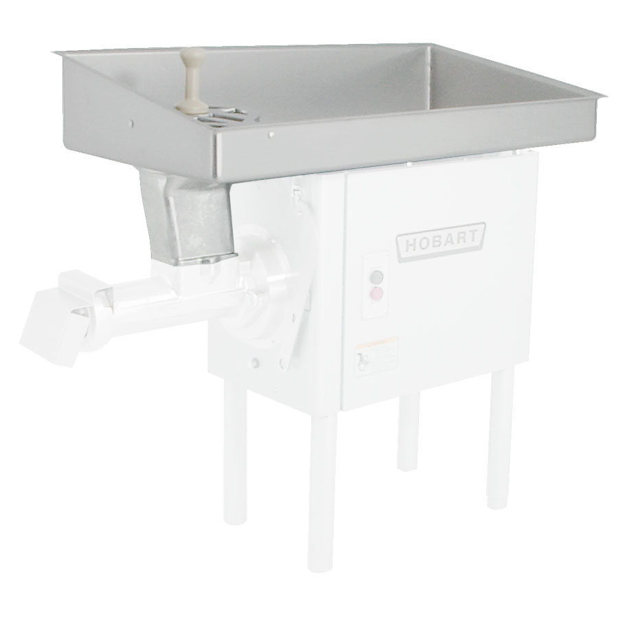 Hobart 46PAN-SSTR/H # 32 Feed Pan for Hobart 4146 # 32 Meat Grinder and 4246 Meat Grinder / Mixer - Stainless Steel