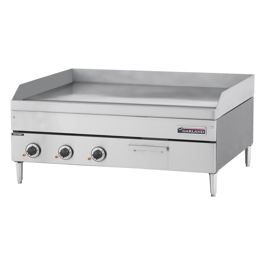 "Garland / US Range 240V 3 Phase Garland E24-24G 24"" Heavy Duty Electric Countertop Griddle at Sears.com"