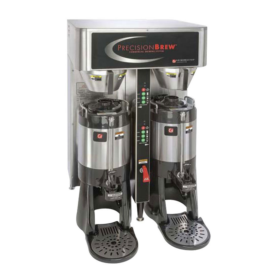 Grindmaster Cecilware 120/240V Grindmaster PBIC-430 1.5 Gallon Twin Shuttle Coffee Brewer at Sears.com