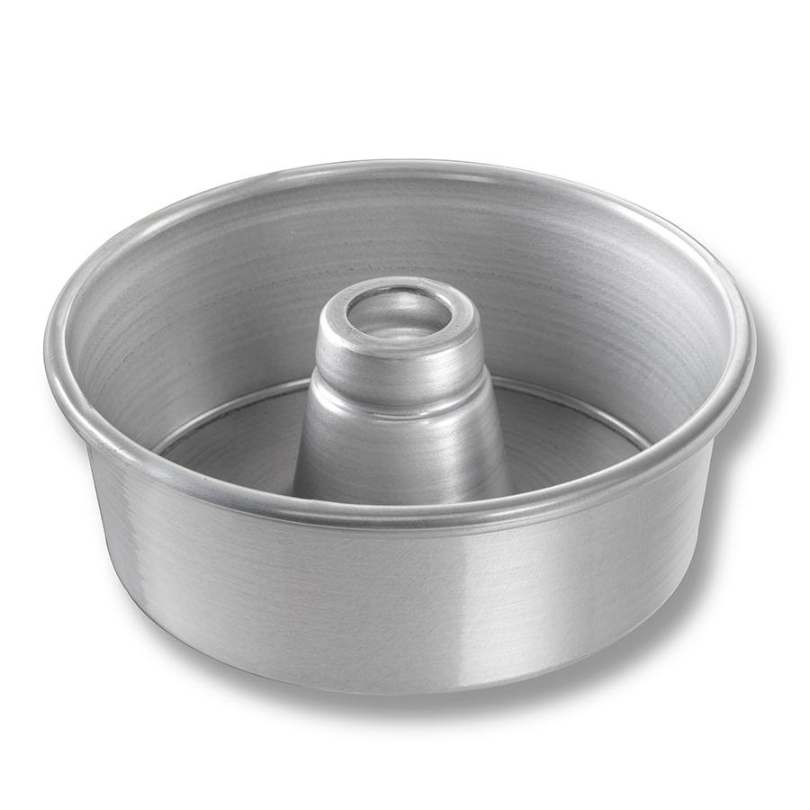 Chicago metallic 46500 7 1 2 aluminum angel food cake pan for Aluminum cuisine