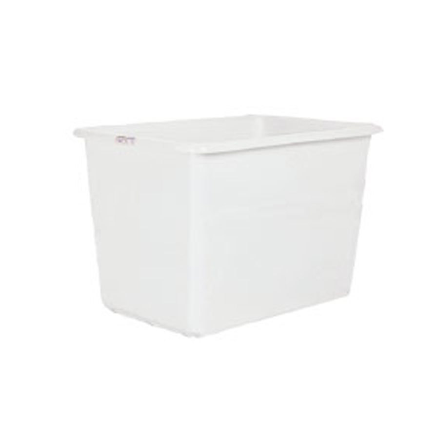 Winholt TUB-6A-WH 6 Bushel White Tub for 30-6 Series Bulk Movers
