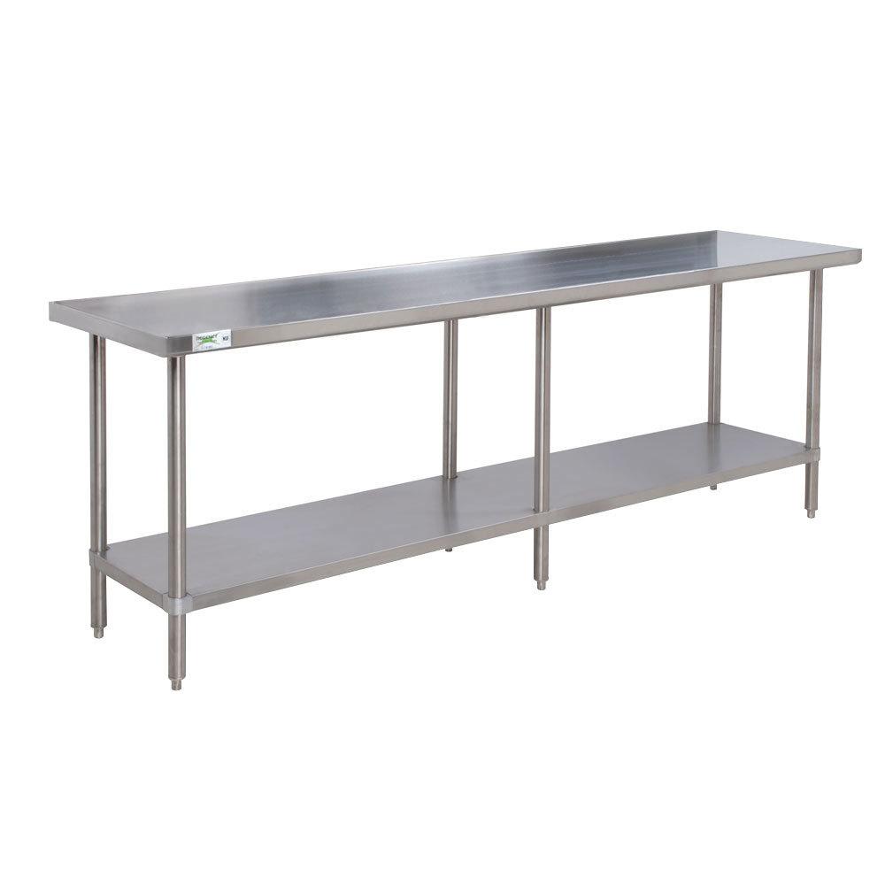 Stainless Steel Table : Regency 16 Gauge All Stainless Steel Commercial Work Table - 30