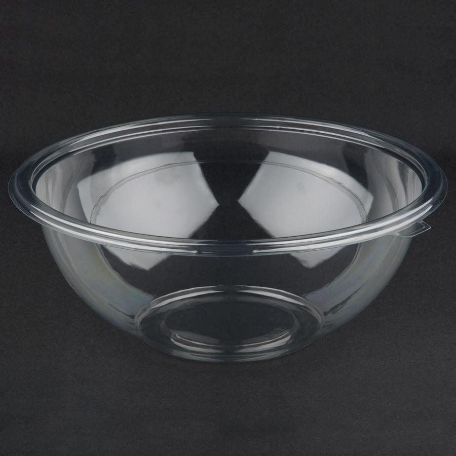 Fineline Super Bowl 5160-CL 160 oz. Clear Plastic Bowl ...