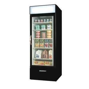 Beverage Air MMR27-1-B-LED Black Marketmax Refrigerated Glass Door Merchandiser with LED Lighting - 27 Cu. Ft. at Sears.com