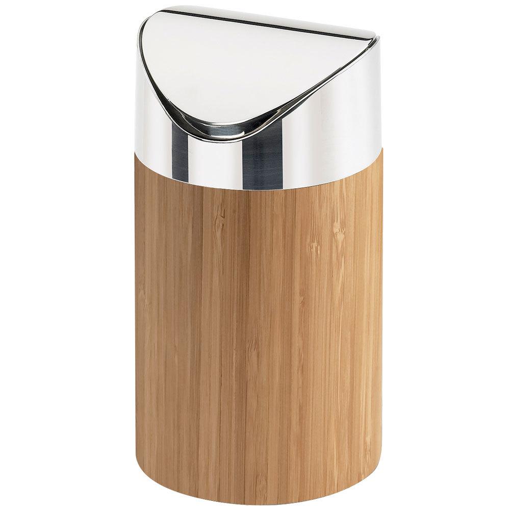 Cal Mil 1717 60 Bamboo Counter Trash Bin 5 Quot X 7 Quot
