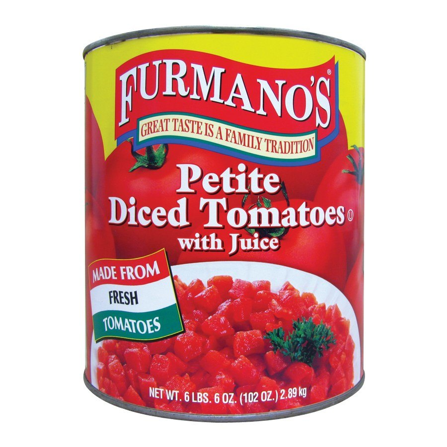 Furmano's Petite Diced Tomatoes with Juice - #10 Can