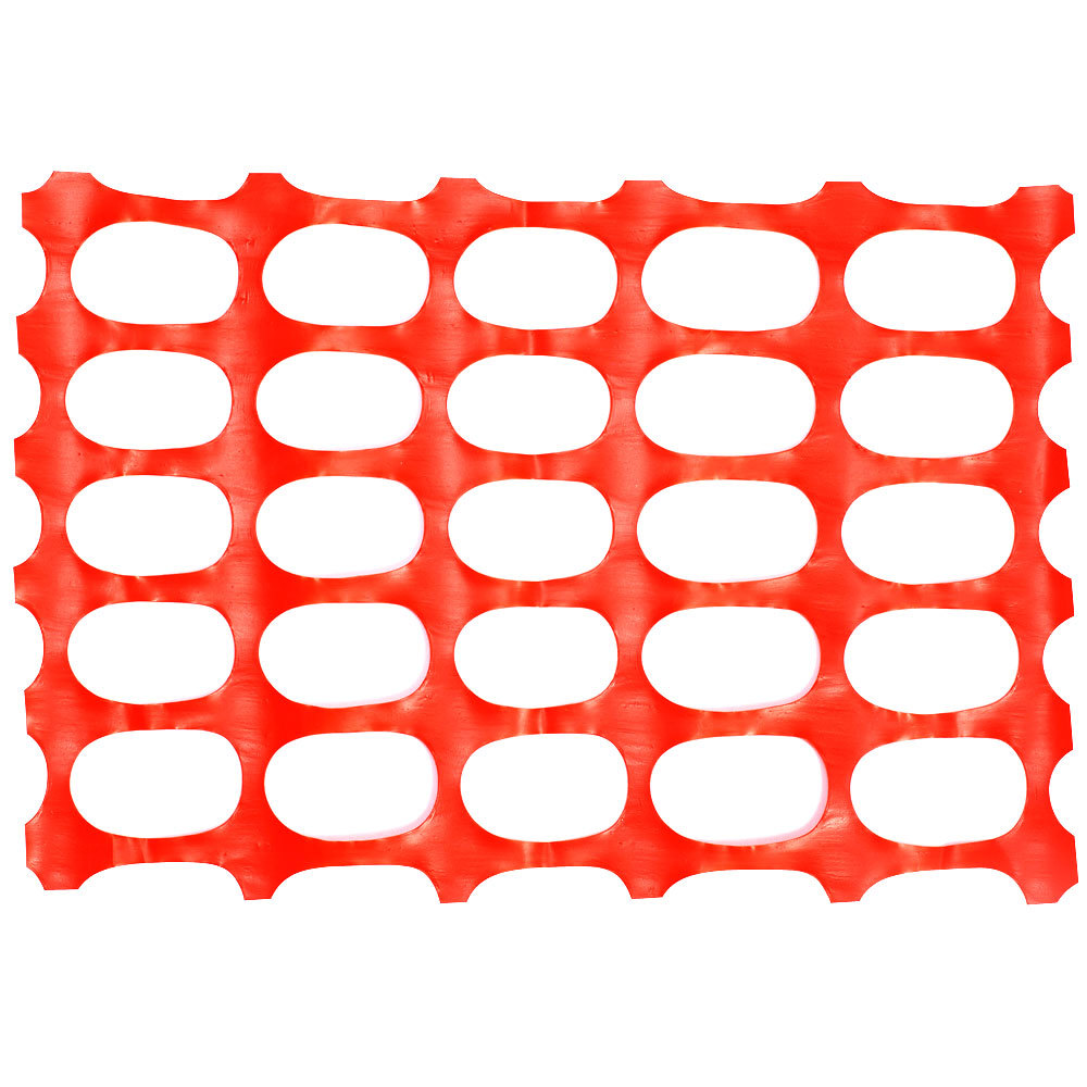 4 ft. x 100 ft. Orange Safety Fencing - Oval Pattern
