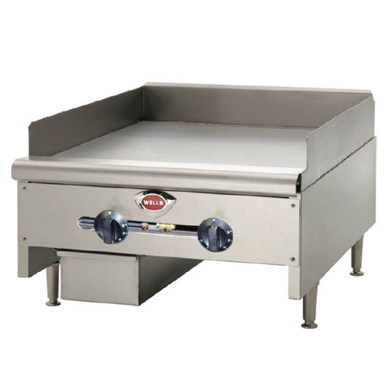Countertop Gas Griddle : ... Wells HDTG-3630G Heavy Duty 36