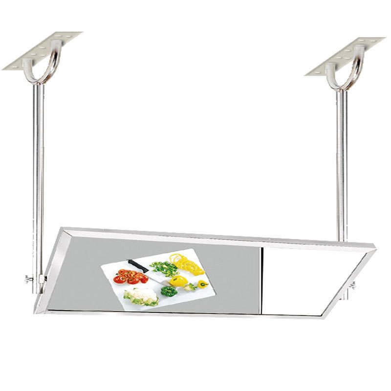 Advance tabco mi 60 24 x 60 ceiling mounted tilting demo for Mirror 48 x 60