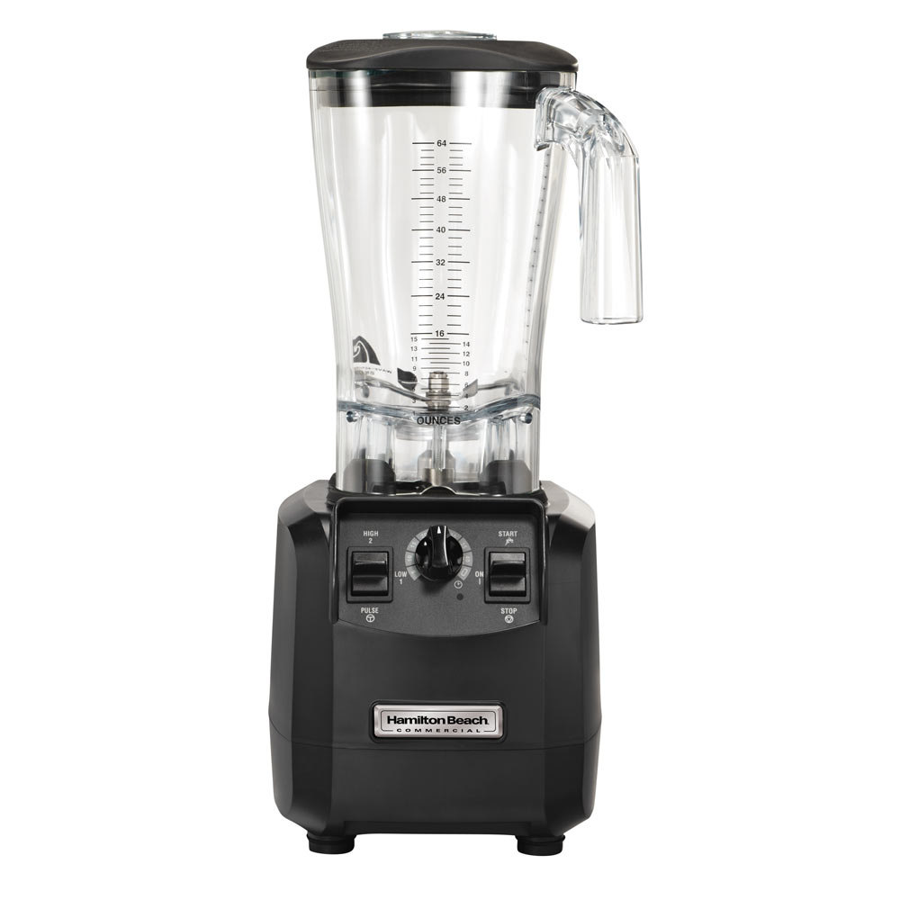 Hamilton Beach HBH550-CE Fury 3 hp 64 oz. High Performance Bar Blender - 230V (International Use ...