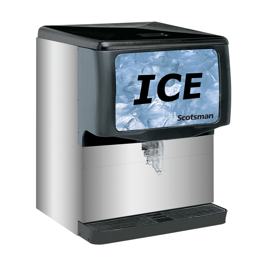 Scotsman Id250b 1a Modular Countertop Ice Dispenser 250 Lb