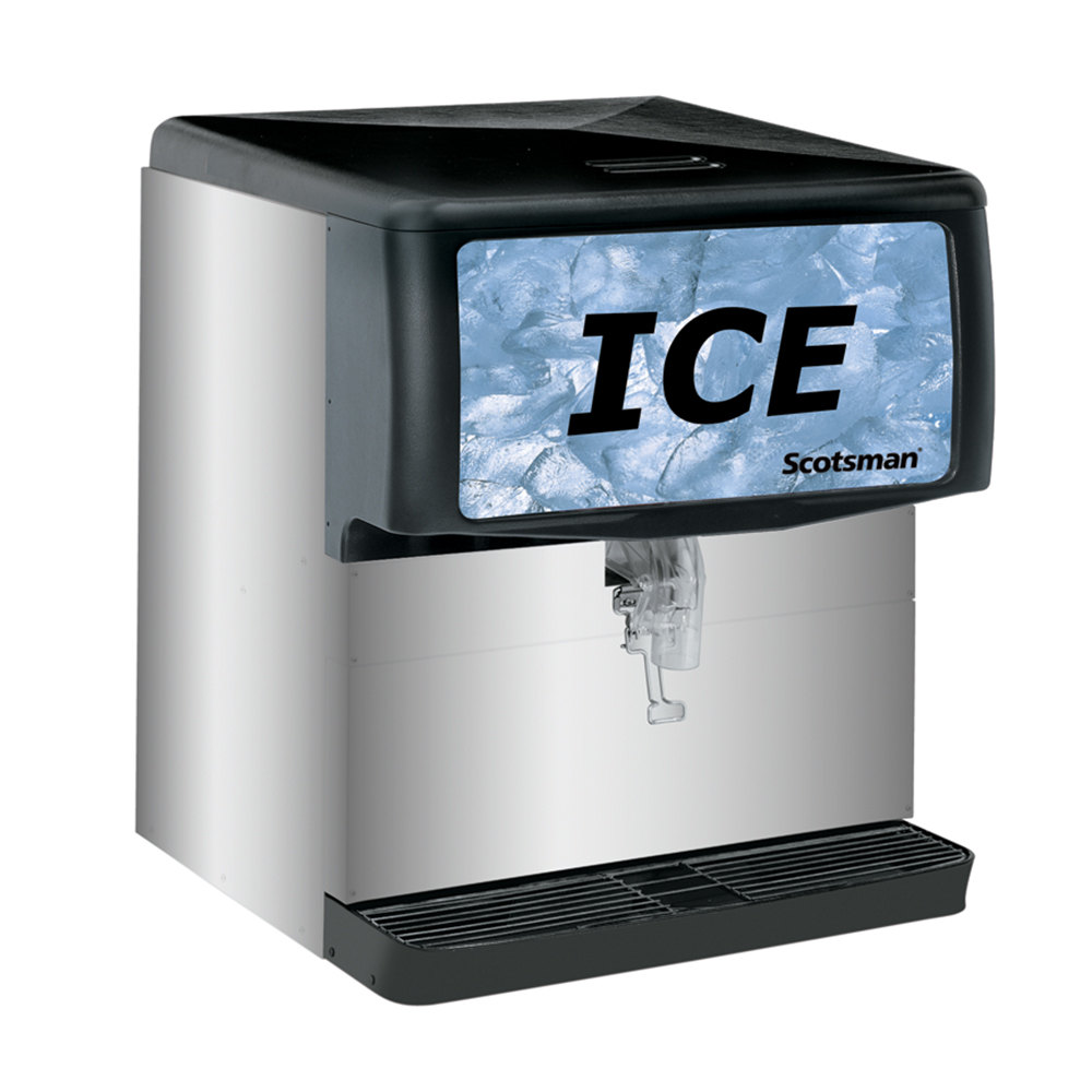 Scotsman Countertop Ice Maker : Scotsman ID200 Modular Countertop Ice Dispenser - 200 lb.