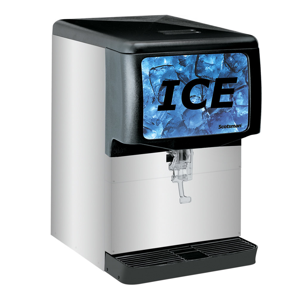 Scotsman Id150b 1a Modular Countertop Ice Dispenser 150 Lb