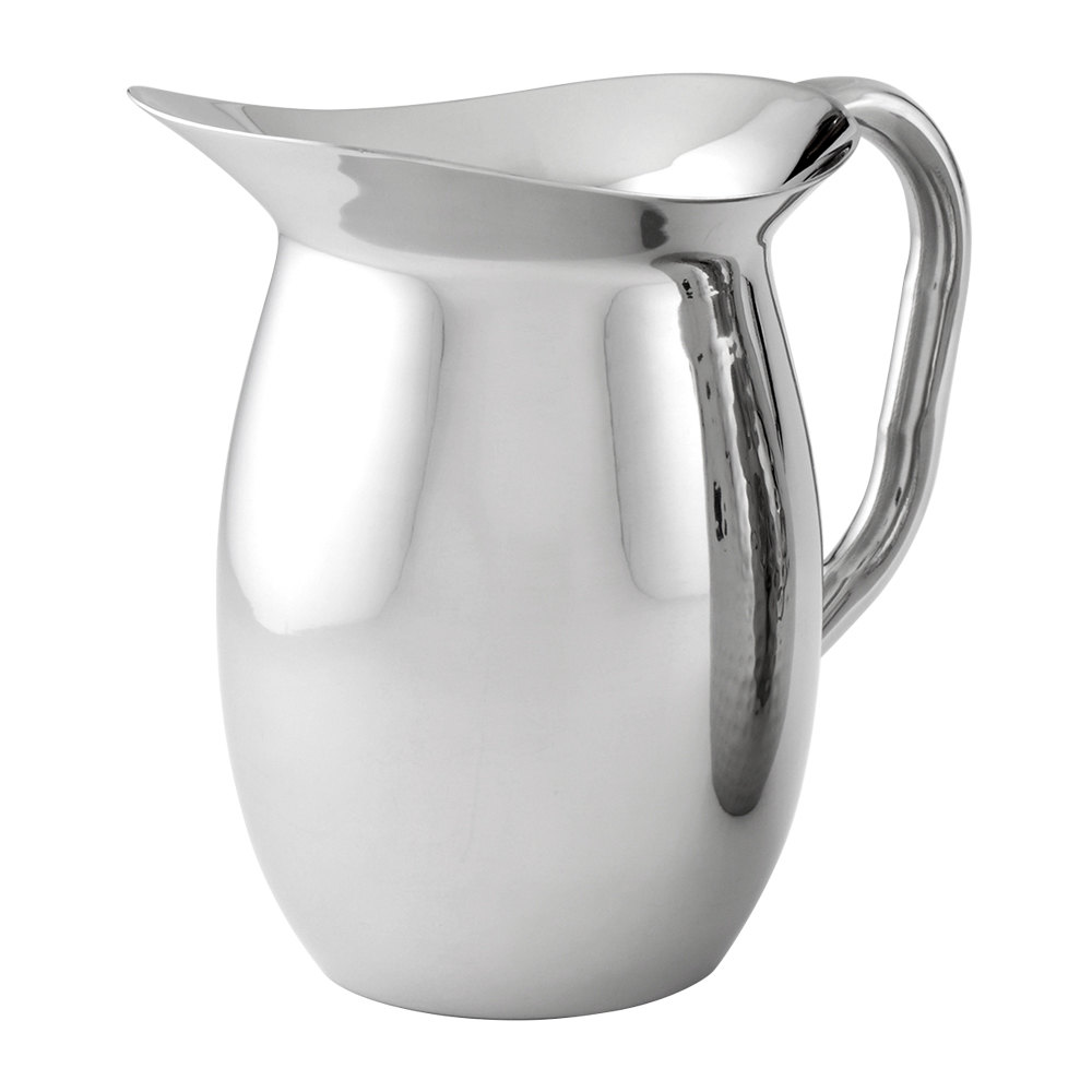American Metalcraft DWP64 2 Qt. Mirror Finish Bell Pitcher