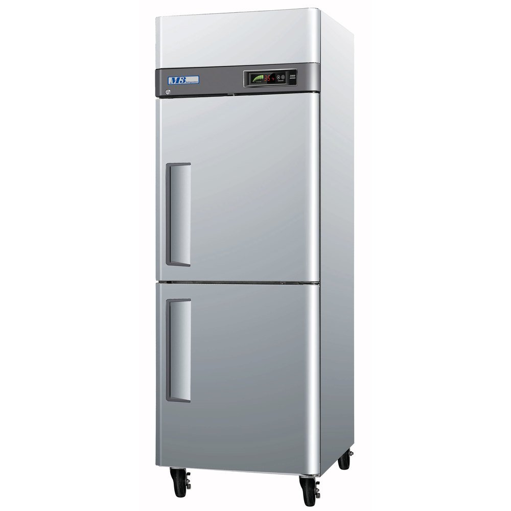 Turbo Air M3F24-2 51 inch M3 Series Two Half Door Reach In Freezer - 24 Cu. Ft.