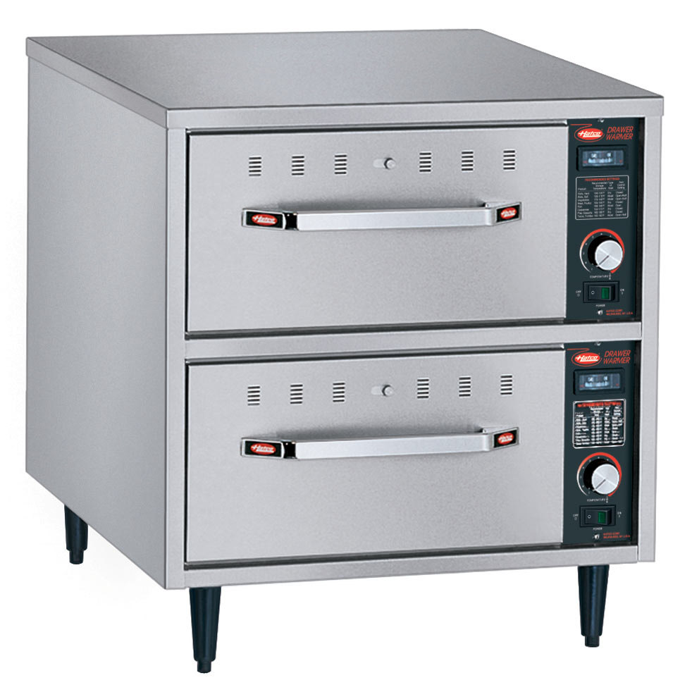 Food Warmer Oven ~ Hatco hdw n freestanding narrow two drawer warmer v