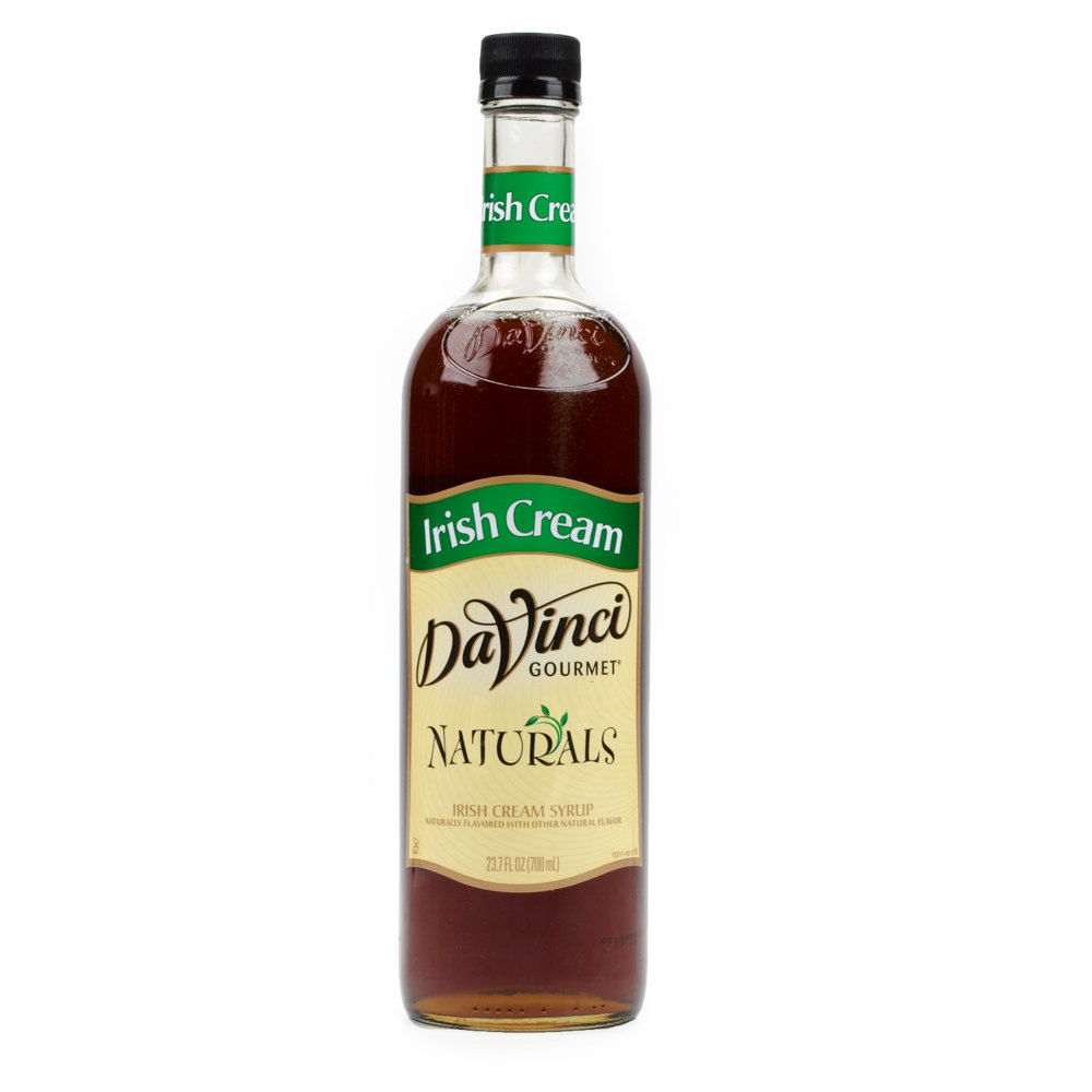 DaVinci Gourmet 700 mL Irish Cream All Natural Coffee Flavoring Syrup