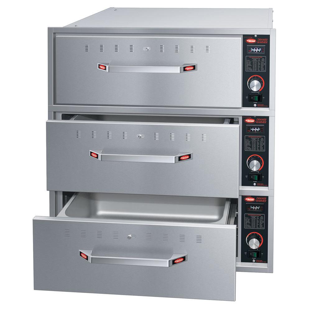 Oven Food Warmer Drawer ~ Hatco hdw freestanding three drawer warmer v w