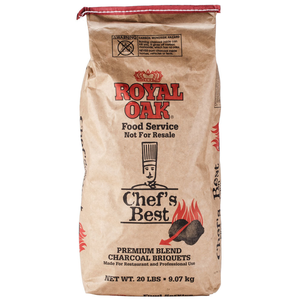Hardwood Charcoal Briquettes ~ Royal oak chef s best restaurant style charcoal briquettes