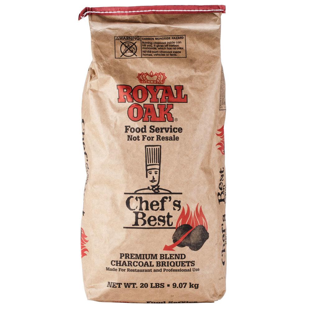 Royal Oak Chef's Best Restaurant Style Charcoal Briquettes ...
