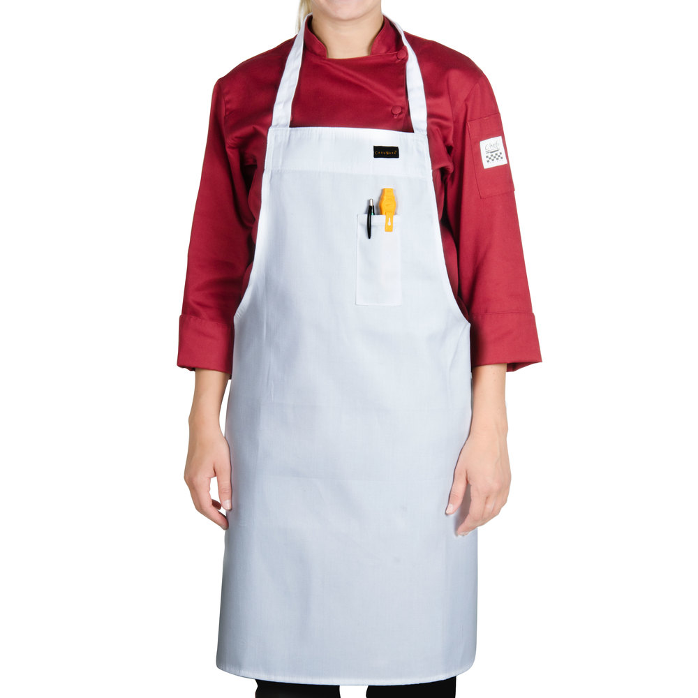 Chef aprons with pockets