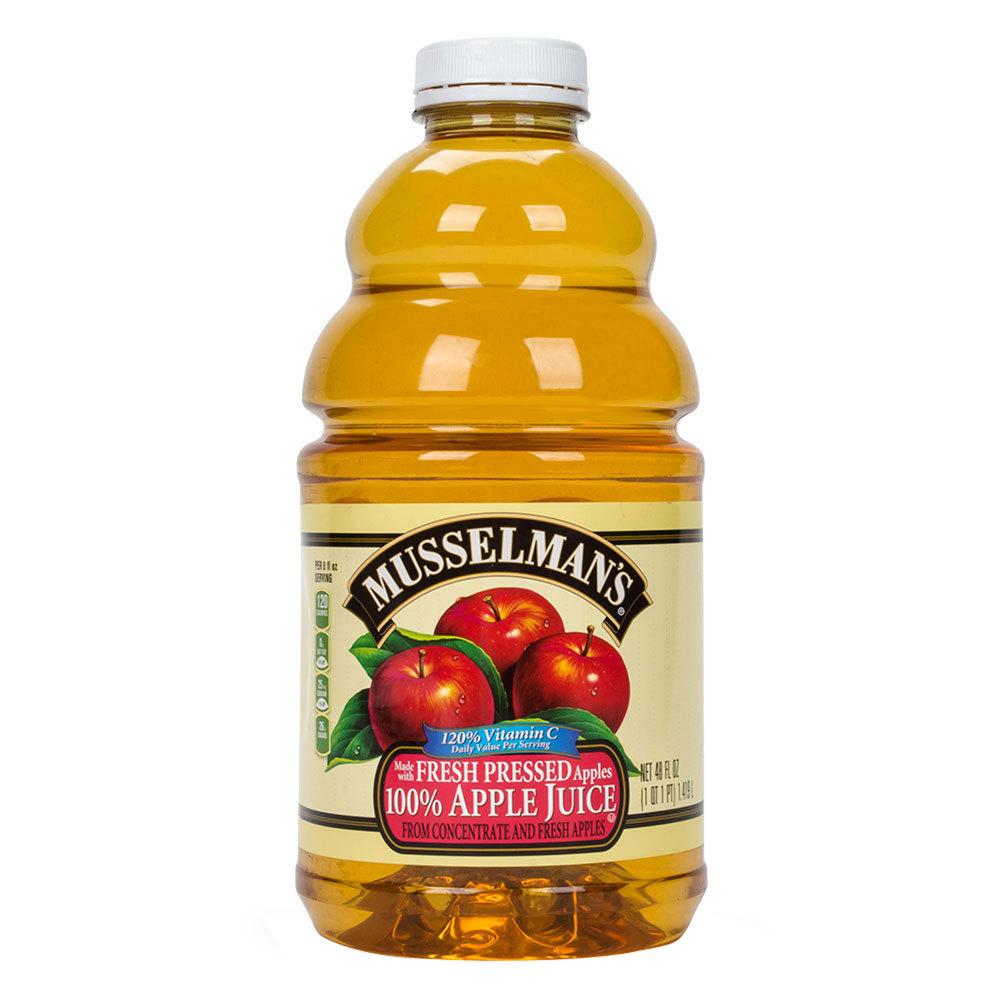 Musselman's Apple Juice with Vitamin C