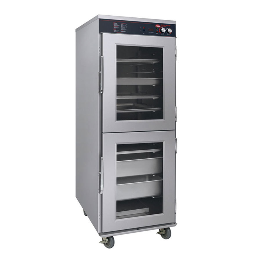 Hatco FSHC-17W1D Flav-R-Savor Single Opening Full Height Holding and Proofing Cabinet with Clear Dutch Doors