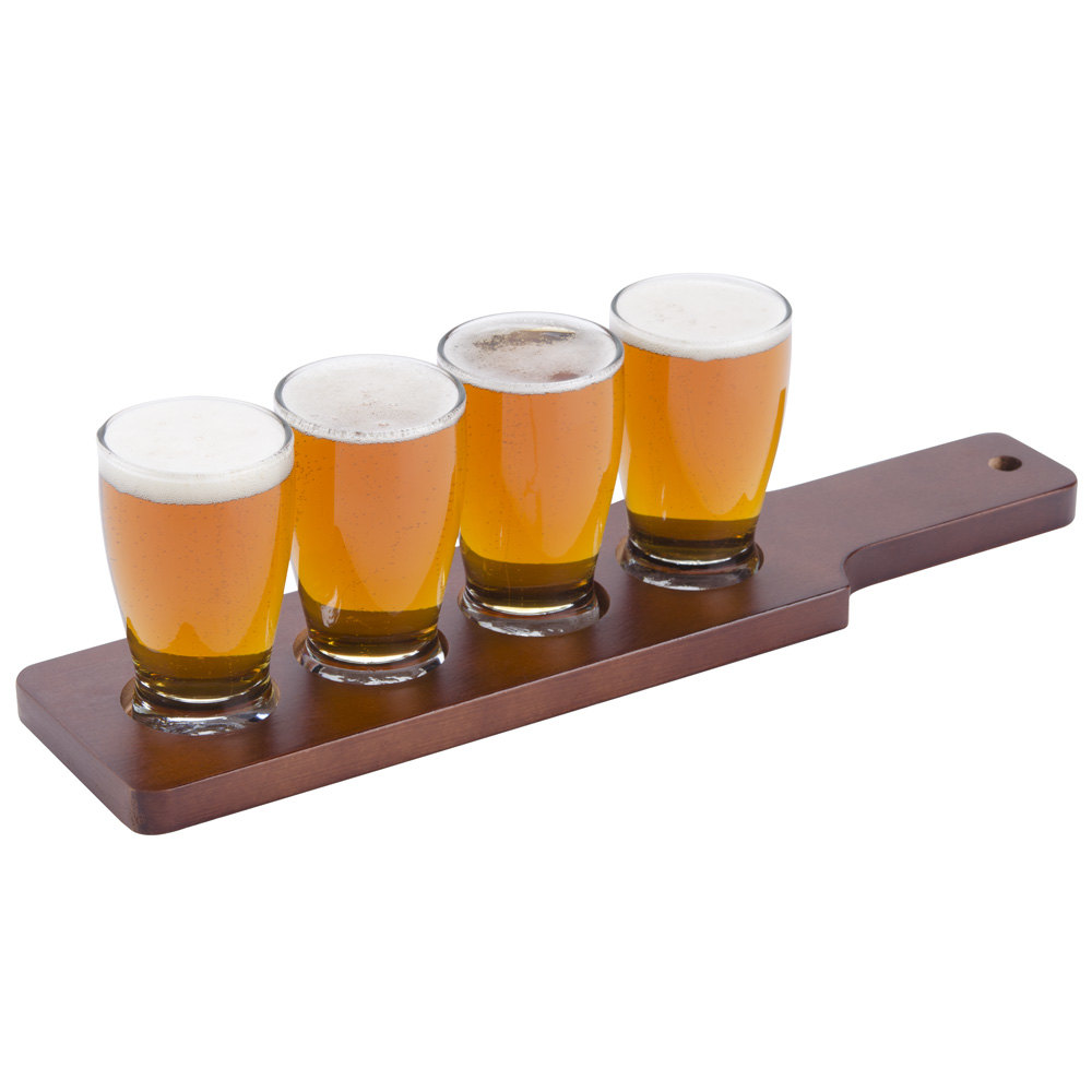 Anchor Hocking Craft Brews Beer Flight - 4 Glasses with ...