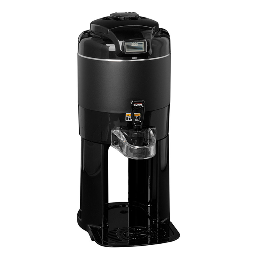 Bunn 42700.0004 TF 1 Gallon Black ThermoFresh Server with Digital Timer and Attached Base