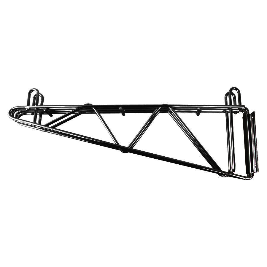 regency 18 u0026quot  deep wall mounting bracket for adjoining black
