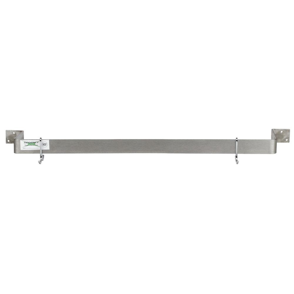 Regency 24 Quot Stainless Steel Wall Mounted Single Line Pot