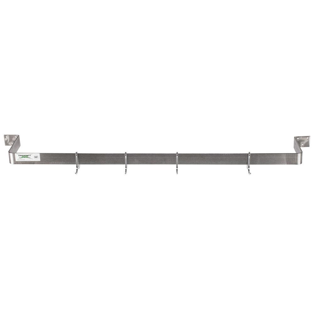 Regency 48 Quot Stainless Steel Wall Mounted Single Line Pot