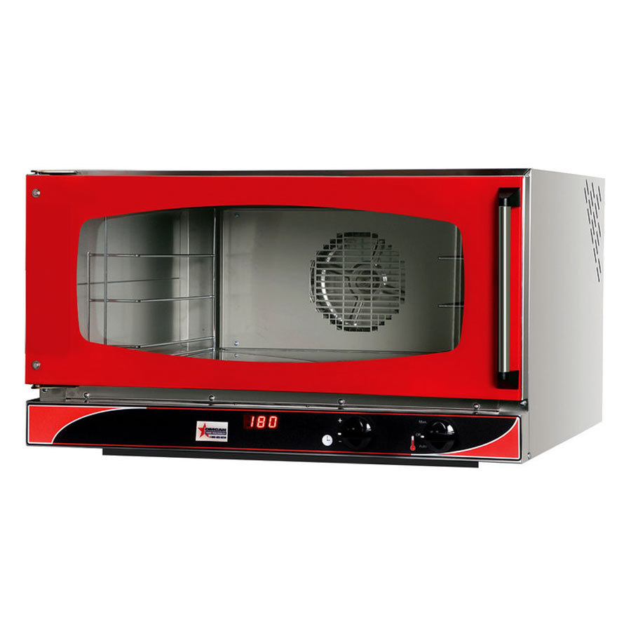 Countertop Oven Full Size : Brado Full Size Countertop Convection Oven with 3 Full Size Trays ...